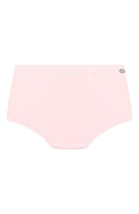 Детские хлопковые шорты TARTINE ET CHOCOLAT светло-розового цвета, арт. TQ26071 | Фото 1