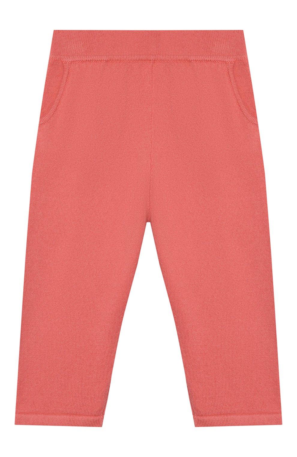 Детские кашемировые брюки LORO PIANA кораллового цвета, арт. FAI0797 | Фото 1