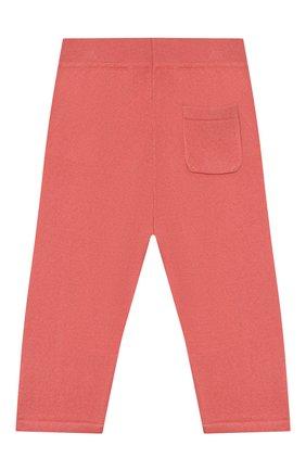 Детские кашемировые брюки LORO PIANA кораллового цвета, арт. FAI0797 | Фото 2