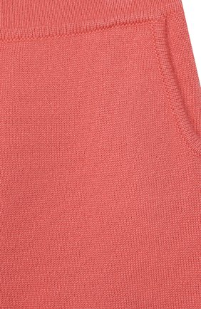 Детские кашемировые брюки LORO PIANA кораллового цвета, арт. FAI0797 | Фото 3