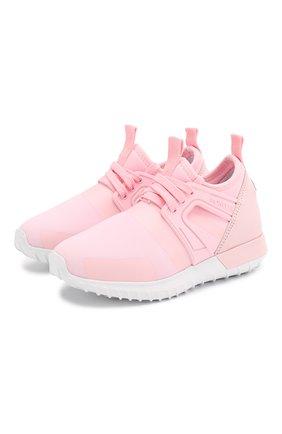 Детские кроссовки MONCLER розового цвета, арт. F1-954-4M701-10-02S9R | Фото 1