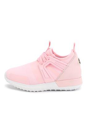 Детские кроссовки MONCLER розового цвета, арт. F1-954-4M701-10-02S9R | Фото 2