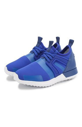 Детские кроссовки MONCLER темно-синего цвета, арт. F1-954-4M705-20-02S9W | Фото 1