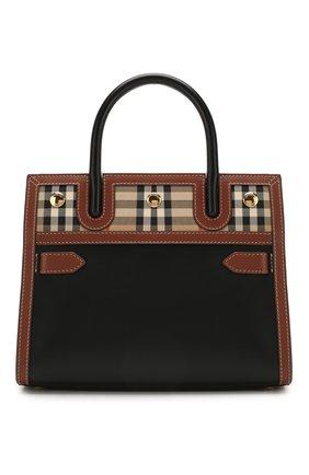 Женская сумка title BURBERRY черного цвета, арт. 8025266   Фото 1