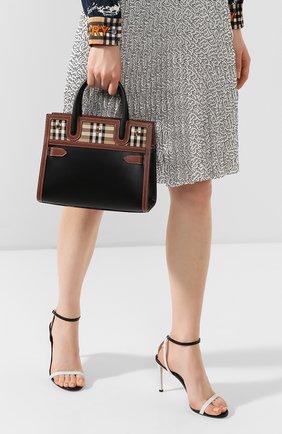 Женская сумка title BURBERRY черного цвета, арт. 8025266   Фото 2