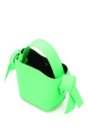 Женская сумка musubi micro ACNE STUDIOS зеленого цвета, арт. A10033/W   Фото 4