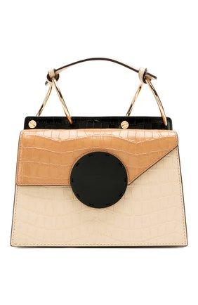Женская сумка phoebe bis DANSE LENTE коричневого цвета, арт. PH0EBE BIS/T0FFEE/TAN | Фото 1