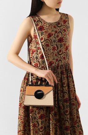 Женская сумка phoebe bis DANSE LENTE коричневого цвета, арт. PH0EBE BIS/T0FFEE/TAN | Фото 2