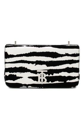 Женская сумка lola BURBERRY черно-белого цвета, арт. 8028181   Фото 1
