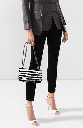 Женская сумка lola BURBERRY черно-белого цвета, арт. 8028181   Фото 2