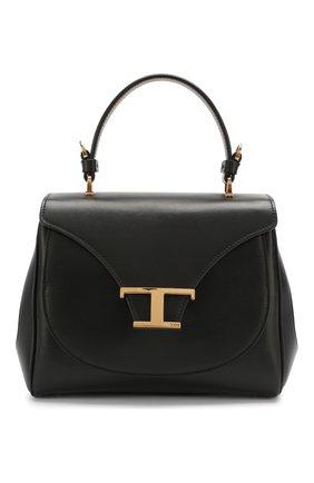 Женская сумка t singola TOD'S черного цвета, арт. XBWTSIJ0100R0R | Фото 1