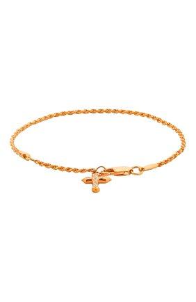 Женская браслет cross LEVASHOVAELAGINA золотого цвета, арт. cross/br | Фото 1