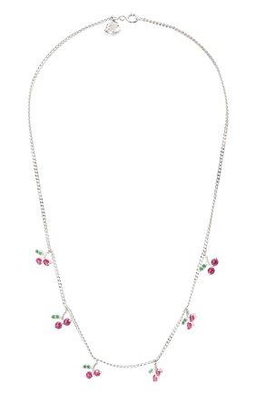 Женское колье cherry LEVASHOVAELAGINA серебряного цвета, арт. cherry/n | Фото 1