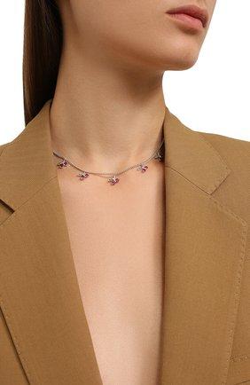 Женское колье cherry LEVASHOVAELAGINA серебряного цвета, арт. cherry/n | Фото 2