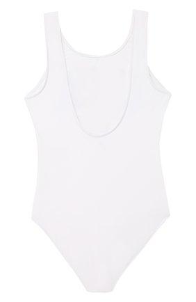 Детского слитный купальник RALPH LAUREN белого цвета, арт. 313766905   Фото 2