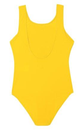 Детского слитный купальник RALPH LAUREN желтого цвета, арт. 313796771 | Фото 2