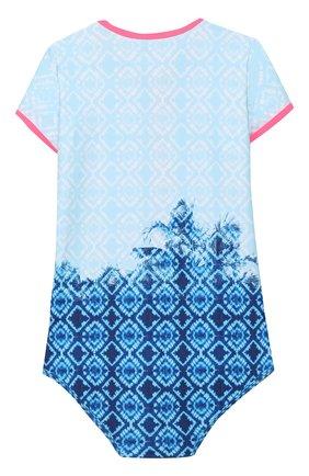 Детского слитный купальник SUNUVA голубого цвета, арт. S2711/7-14 | Фото 2