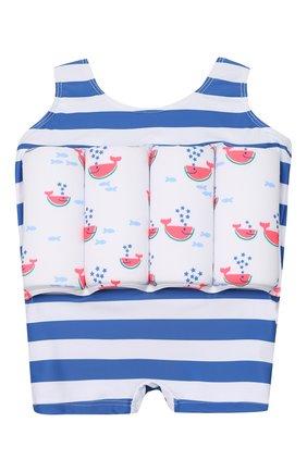 Детского комбинезон для плавания со вставками SUNUVA голубого цвета, арт. S2123/1-6 | Фото 1