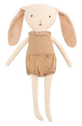 Детского игрушка заяц белл MAILEG золотого цвета, арт. 16-7713-00 | Фото 1