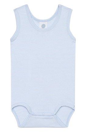Детское комплект из 2-х боди SANETTA голубого цвета, арт. 322886 50308 | Фото 2