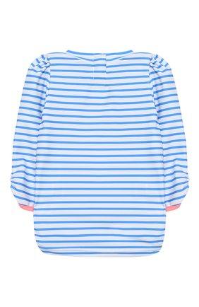 Детский пляжный лонгслив SUNUVA голубого цвета, арт. S2000 | Фото 2
