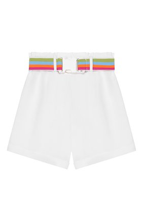 Детские шорты INDEE белого цвета, арт. GLENN/WHITE/12A-18A | Фото 1