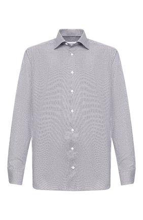 Мужская хлопковая сорочка ETON серого цвета, арт. 1000 01192 | Фото 1