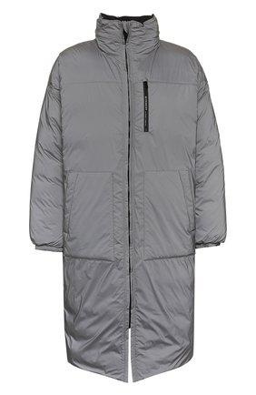Мужская двустороннее пальто GIVENCHY серого цвета, арт. BM00FB12F3 | Фото 1