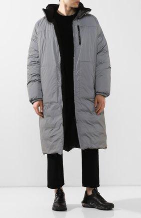 Мужская двустороннее пальто GIVENCHY серого цвета, арт. BM00FB12F3 | Фото 2