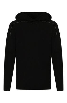 Мужской худи ISABEL BENENATO черного цвета, арт. UK31S20 | Фото 1