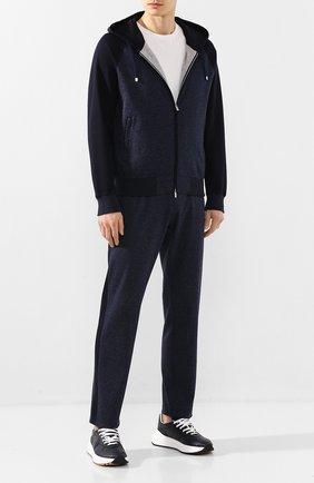 Мужской хлопковый спортивный костюм ANDREA CAMPAGNA темно-синего цвета, арт. 8MT07.0X00.CAMPAGNA. | Фото 1