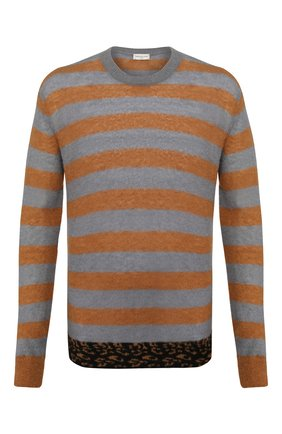 Мужской шерстяной свитер DRIES VAN NOTEN разноцветного цвета, арт. 201-21297-9704 | Фото 1