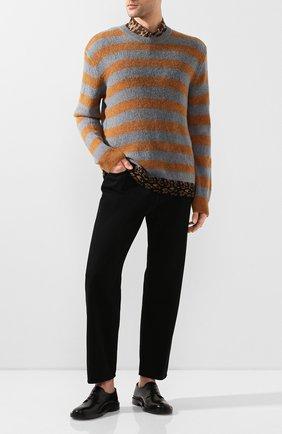 Мужской шерстяной свитер DRIES VAN NOTEN разноцветного цвета, арт. 201-21297-9704 | Фото 2