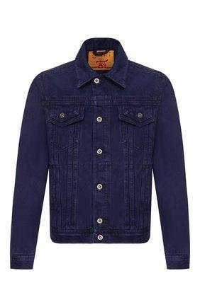 Мужская джинсовая куртка Y/PROJECT фиолетового цвета, арт. JACK56-S18 D03 | Фото 1
