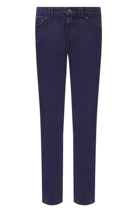 Мужские джинсы Y/PROJECT фиолетового цвета, арт. JEAN22-S18 D03 | Фото 1