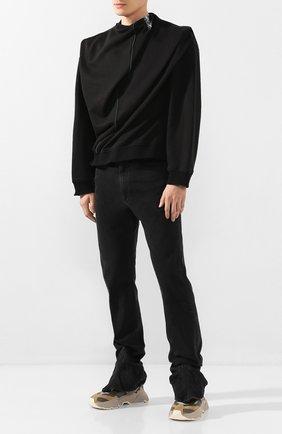 Мужские джинсы Y/PROJECT черного цвета, арт. JEAN24-S18 D06 | Фото 2