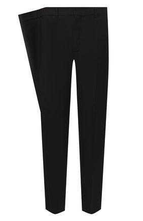 Мужской шерстяные брюки Y/PROJECT черного цвета, арт. PANT45-S18 F107 | Фото 1