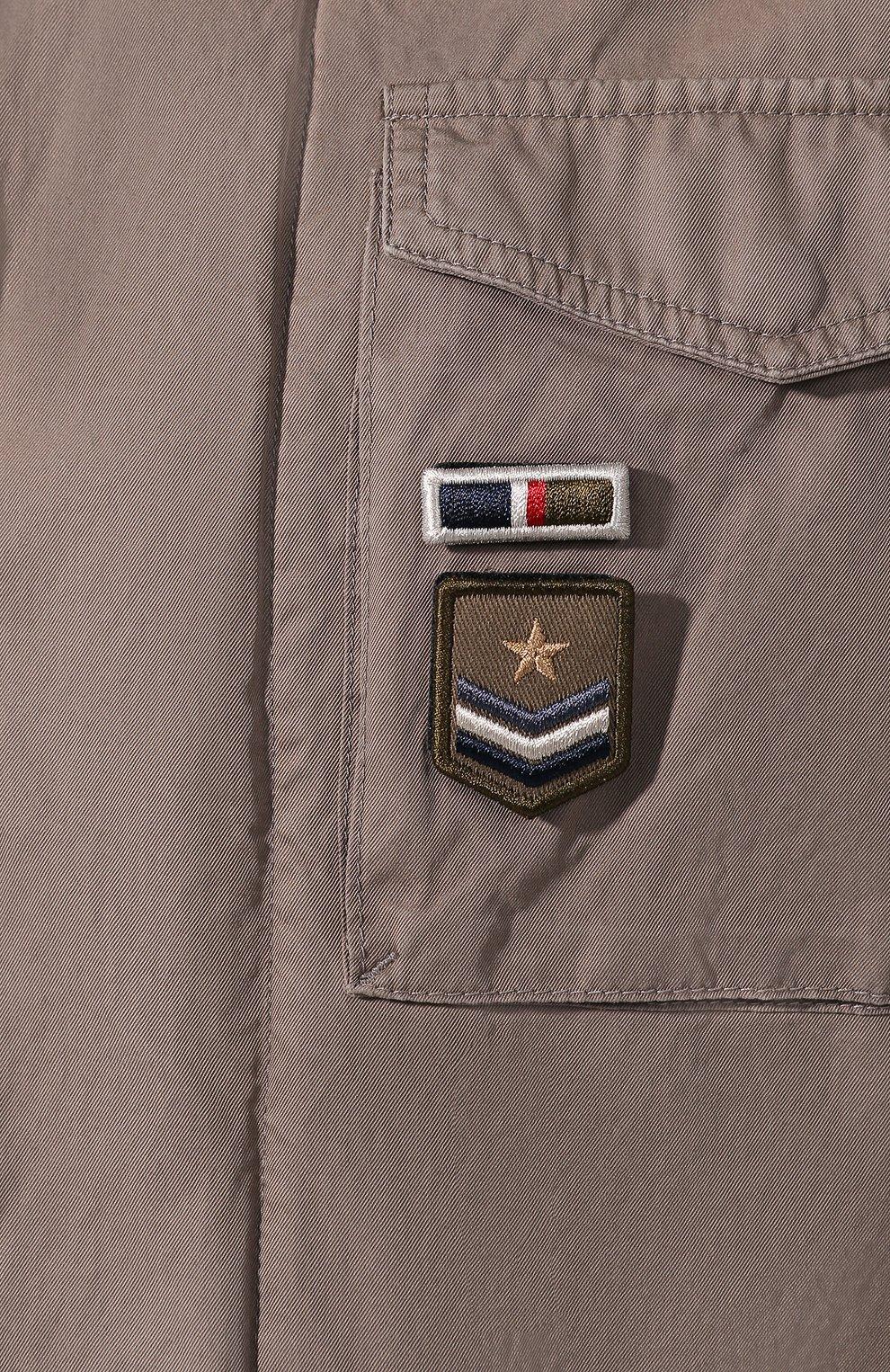 Мужская хлопковая куртка HERNO темно-бежевого цвета, арт. FI0065U/13211 | Фото 5