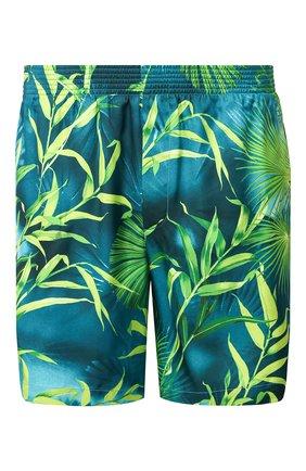 Мужские шорты VERSACE зеленого цвета, арт. A85954/A234748 | Фото 1