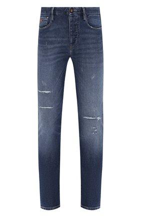 Мужские джинсы EMPORIO ARMANI синего цвета, арт. 3H1J11/1DD6Z | Фото 1