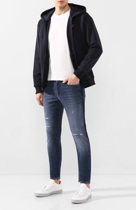 Мужские джинсы EMPORIO ARMANI синего цвета, арт. 3H1J11/1DD6Z | Фото 2