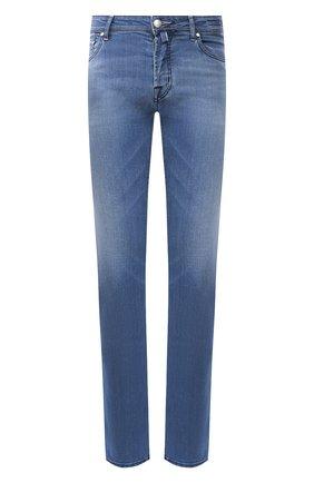 Мужские джинсы JACOB COHEN синего цвета, арт. J620 C0MF 01867-W2/53 | Фото 1