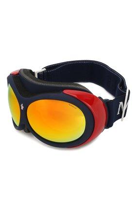 Мужские горнолыжная маска MONCLER разноцветного цвета, арт. ML 0130 92C 89 С/З ОЧКИ | Фото 1