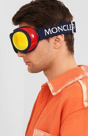 Мужские горнолыжная маска MONCLER разноцветного цвета, арт. ML 0130 92C 89 С/З ОЧКИ | Фото 2