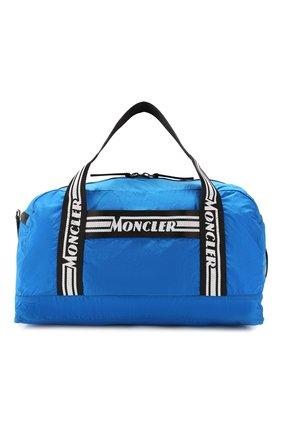 Мужская дорожная сумка MONCLER синего цвета, арт. F1-09A-7A700-00-02SC9 | Фото 1