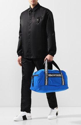 Мужская дорожная сумка MONCLER синего цвета, арт. F1-09A-7A700-00-02SC9 | Фото 2