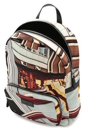 Мужской текстильный рюкзак DUNHILL черного цвета, арт. DU20R3735KC | Фото 4