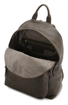 Мужской кожаный рюкзак OFFICINE CREATIVE темно-зеленого цвета, арт. 0C PACK/IGNIS | Фото 4 (Материал: Натуральная кожа)