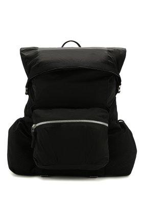Мужской текстильный рюкзак BOTTEGA VENETA черного цвета, арт. 618067/VCQ21 | Фото 1