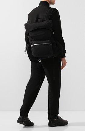 Мужской текстильный рюкзак BOTTEGA VENETA черного цвета, арт. 618067/VCQ21 | Фото 2